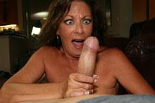Mom Margo Makes Big Cock Explode